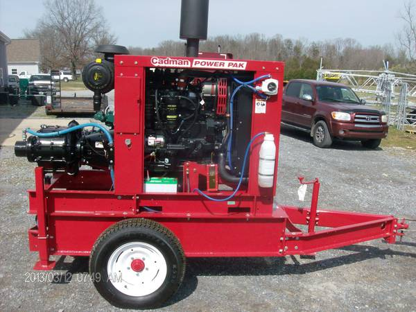 2017 Cadman Power Equipment 125 Hp John Deere Power Unit